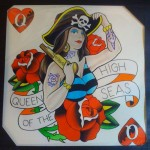&quot;Queen Of The High Seas&quot; by Levi Greenacres