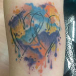 Watercolor tattoo by Levi